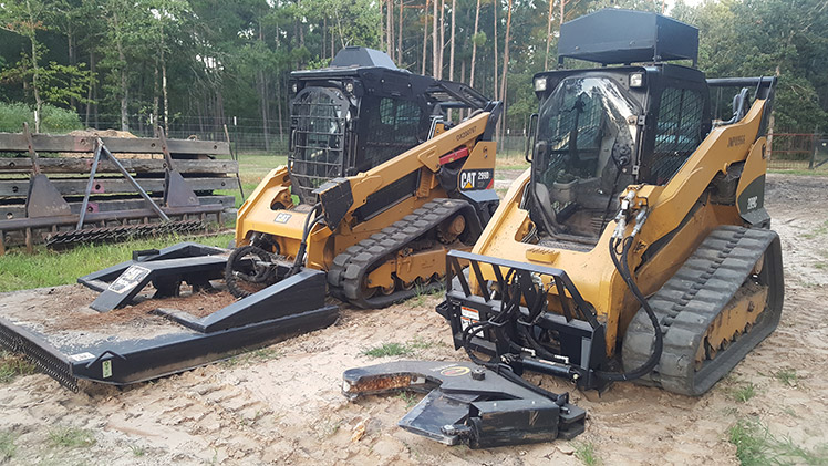 tree removal and thinning equipment