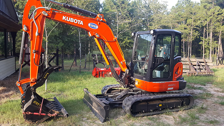 trenching services equipment